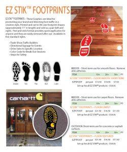 EZ STIK™ Footprints